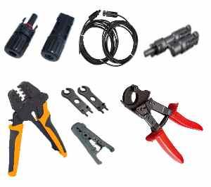 kabels en gereedschap mc4 zonnepanelen kabels