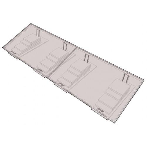 zonnepanelen montage systeem voor plat dak eco