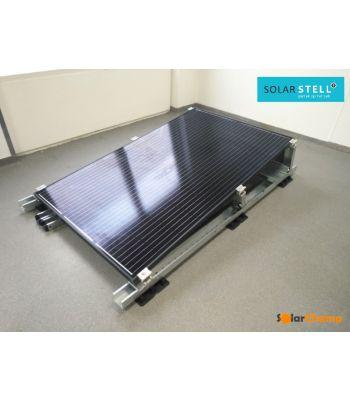 solarstell Plat dak portrait montagesysteem